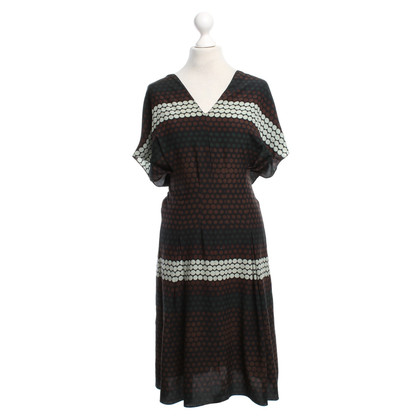 Marni Silk dress in bicolor