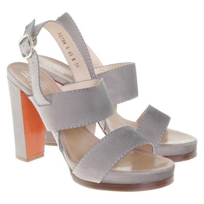 Santoni Sandals in grey