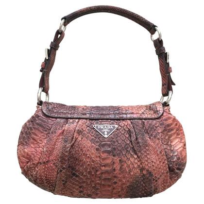 Prada Handtasche aus Pythonleder
