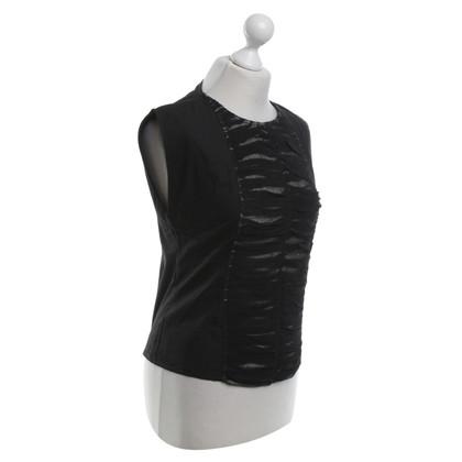 Costume National Top in zwart