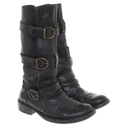 Fiorentini & Baker Laarzen in zwart