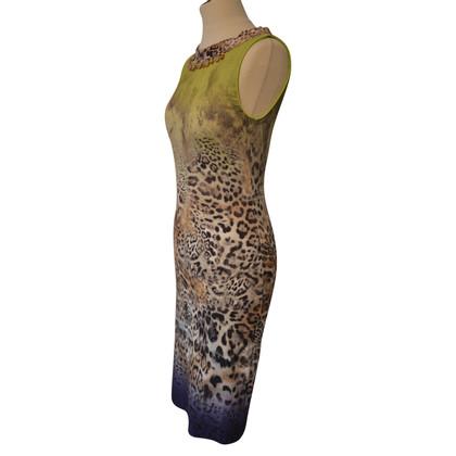 Marc Cain Robe en jersey avec imprimé léopard