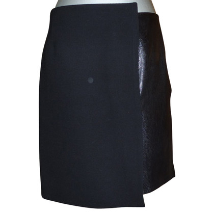 Céline skirt of leather / wool