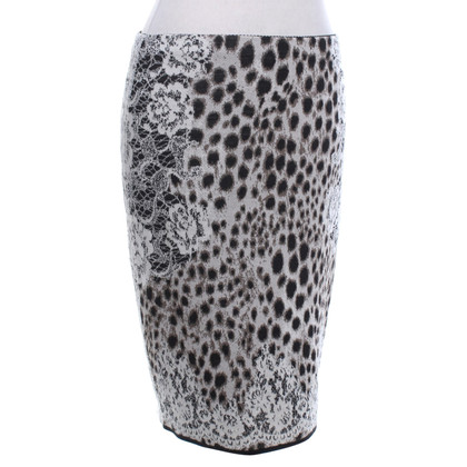 Marc Cain Elastic skirt with pattern