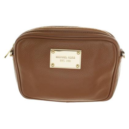 Michael Kors To Hag bag in Brown