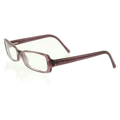 Prada Glasses in violet