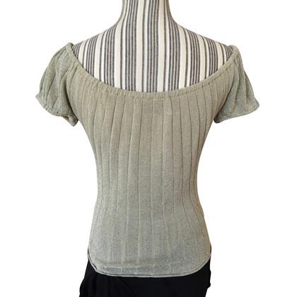 Blumarine Lurex shirt