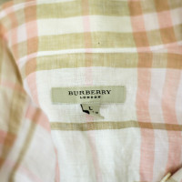 Burberry linen blouse