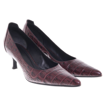 Hugo Boss pumps in reptielenlook
