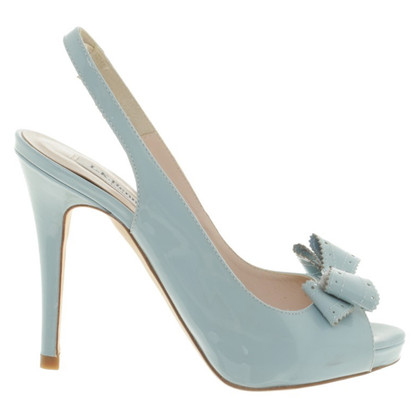 L.K. Bennett Peeptoes in light blue