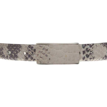 Hugo Boss Belt in reptile look
