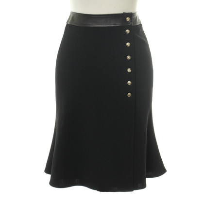 Versace skirt with valance pleats
