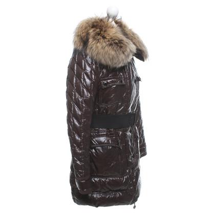 Moncler Coat in donkerbruin