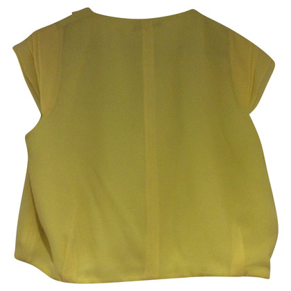 Max Mara Yellow vest made of silk