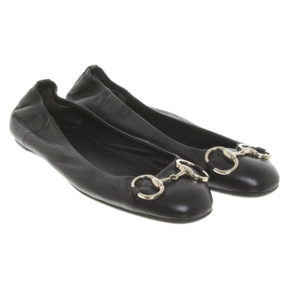 Gucci Ballerinas in black