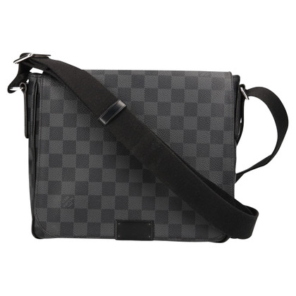 "Louis Vuitton ""District PM Damier Graphite Canvas"""