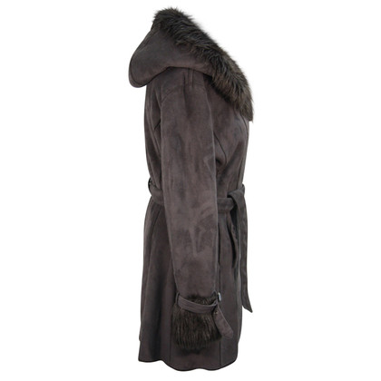 Armani Jeans Fur coat in brown