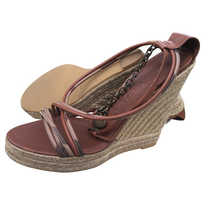 Burberry Wedges mit Schnürung