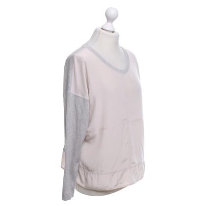Marc Cain Shirt in grigio / Nude