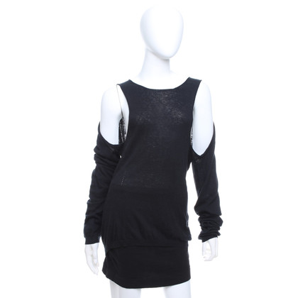 Ann Demeulemeester Knit sweater in black