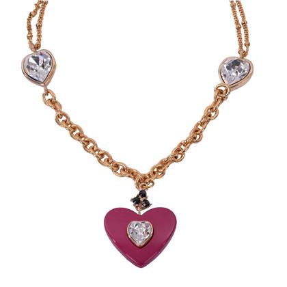 Dolce & Gabbana cuore collana di cristallo