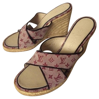 Louis Vuitton Wedges with Monogram-pattern