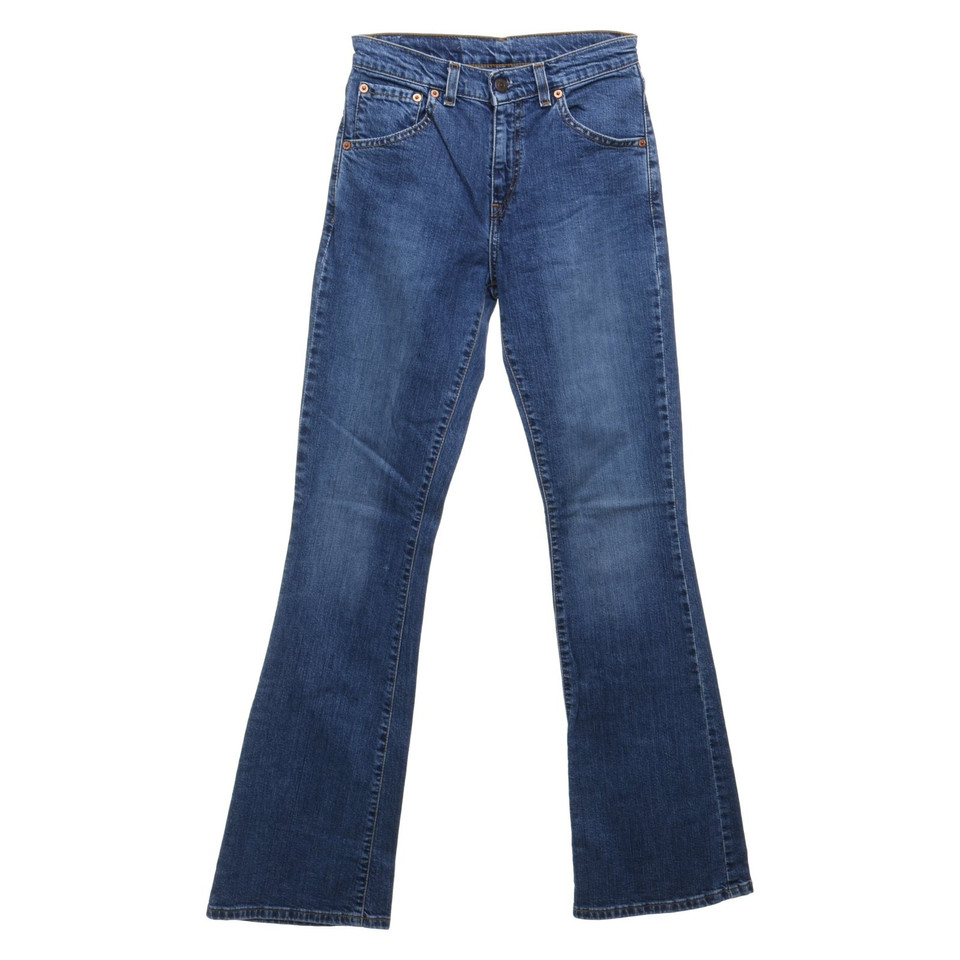 levi 39 s jean bleu taille haute acheter levi 39 s jean bleu. Black Bedroom Furniture Sets. Home Design Ideas