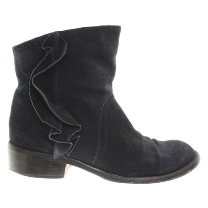 Marc Jacobs Suede boots in dark blue