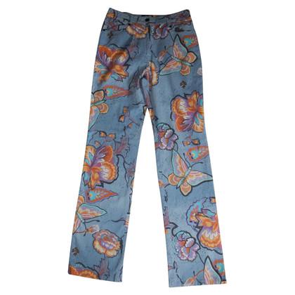 Etro pantalons en coton