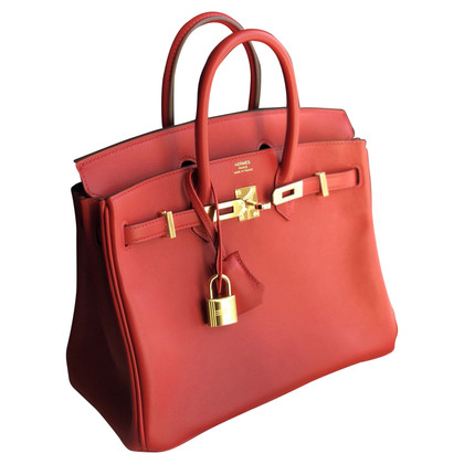 "Hermès ""Birkin Bag 25 Swift Leder"""