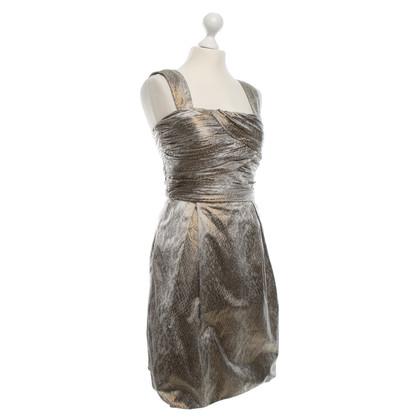 Diane von Furstenberg Bustier dress with animal print