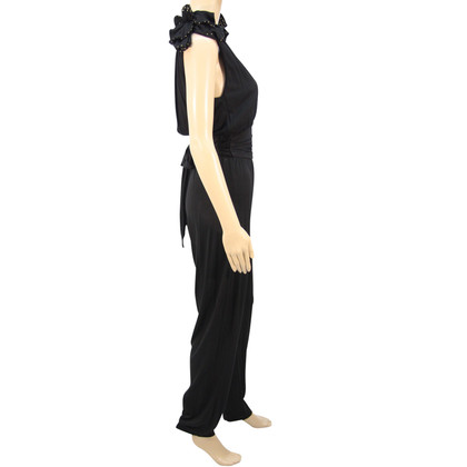 French Connection Jumpsuit in Schwarz
