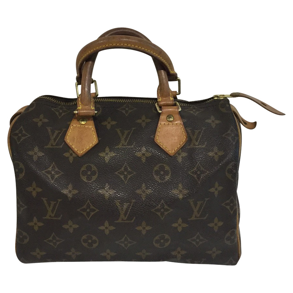 louis vuitton speedy 25 monogram canvas buy second hand louis vuitton speedy 25 monogram. Black Bedroom Furniture Sets. Home Design Ideas