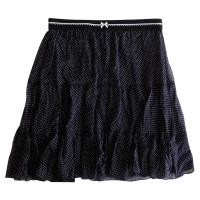 Marc Cain Silk skirt with print