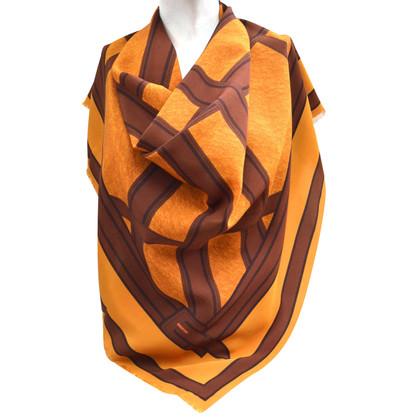 Burberry Zijden sjaal met patroon