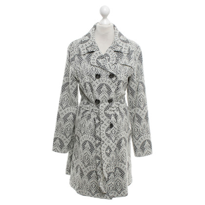 Aigner Coat with lace pattern
