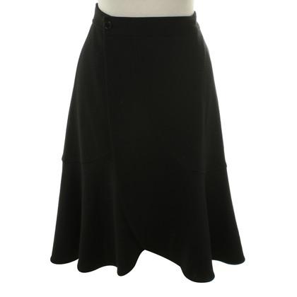 L.K. Bennett Wrap-around skirt wool