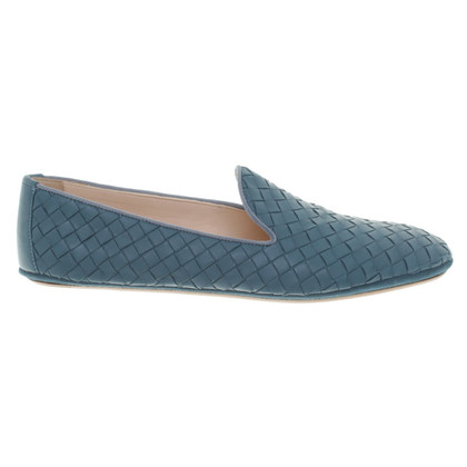 Bottega Veneta Slippers in leather braid
