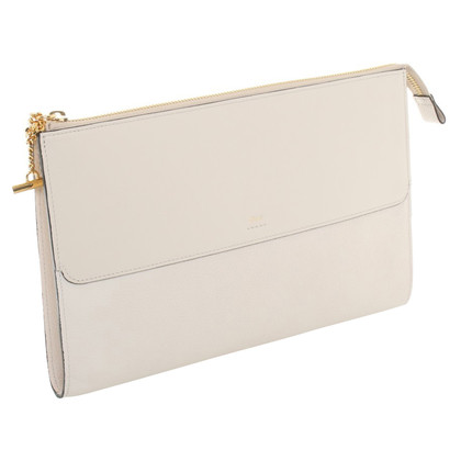 Chloé clutch in cream