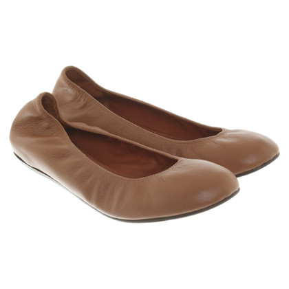 Lanvin Ballerinas in brown