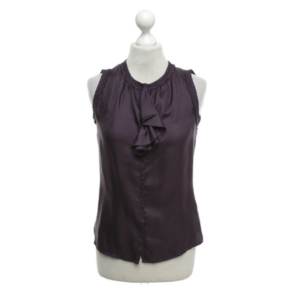 Schumacher top in purple