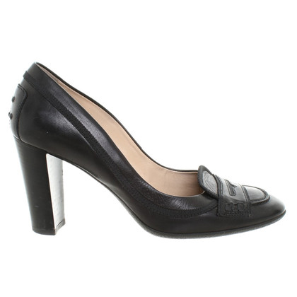 Tod's pumps with block section
