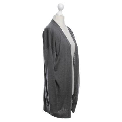 Schumacher Cardigan in dark gray