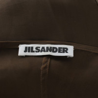 Jil Sander abito Maxi in marrone