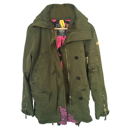 Blonde No8 Hooded parka