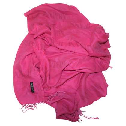 Armani Jeans Scarf pink