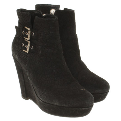 The Kooples Wedges Suede