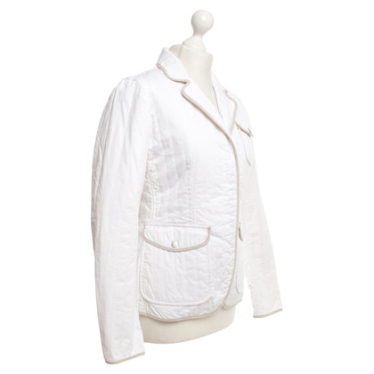 Fay Quilted jacket in white