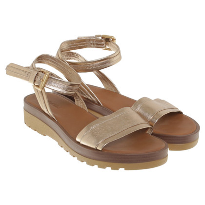 See by Chloé Gold colored sandals