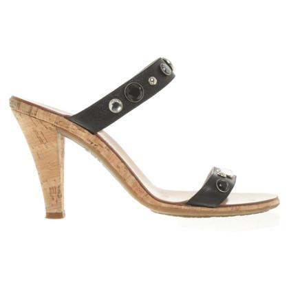 Marc Jacobs Sandaletten mit Schmucksteinen